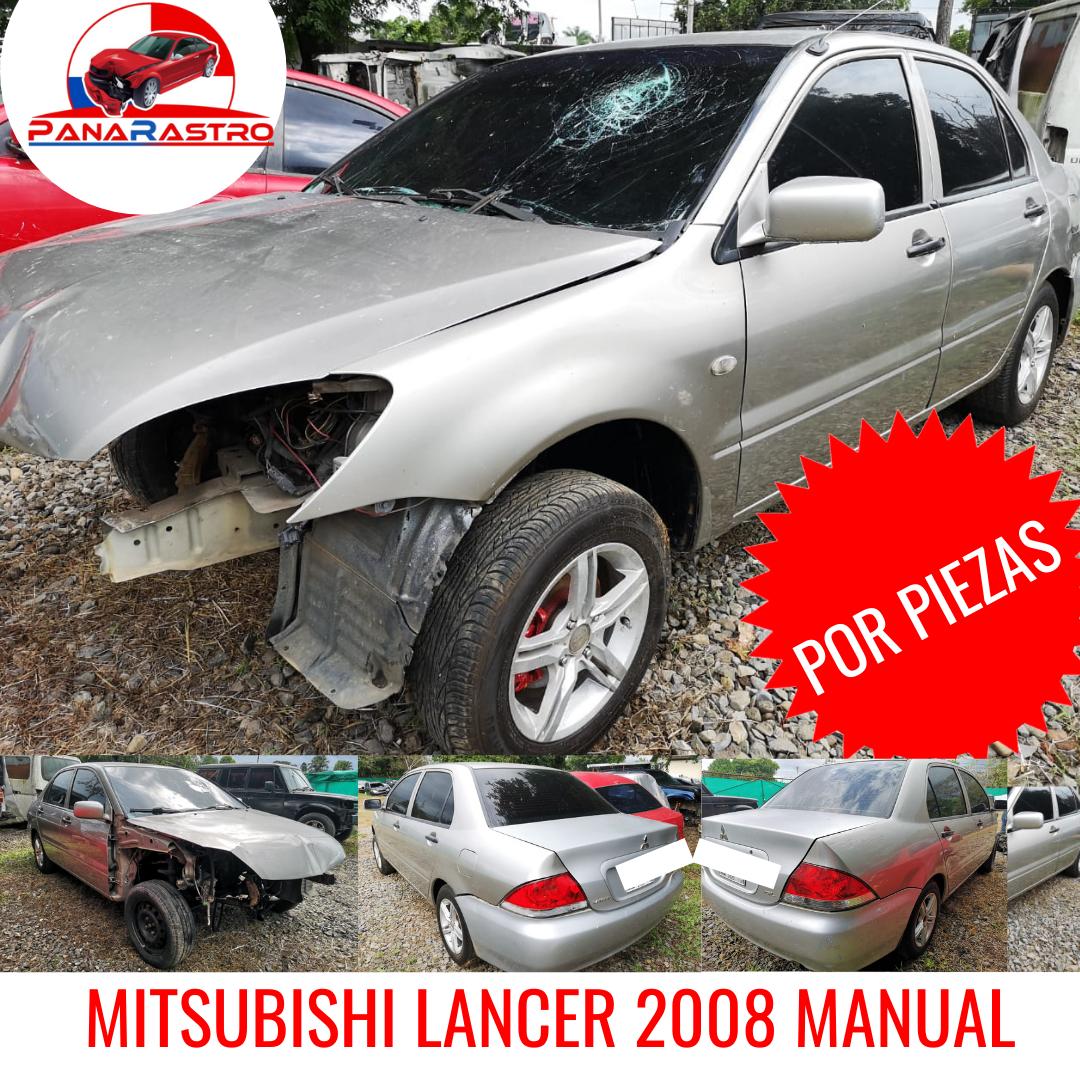 POR PIEZAS MITSUBISHI LANCER GL 2008 MANUAL