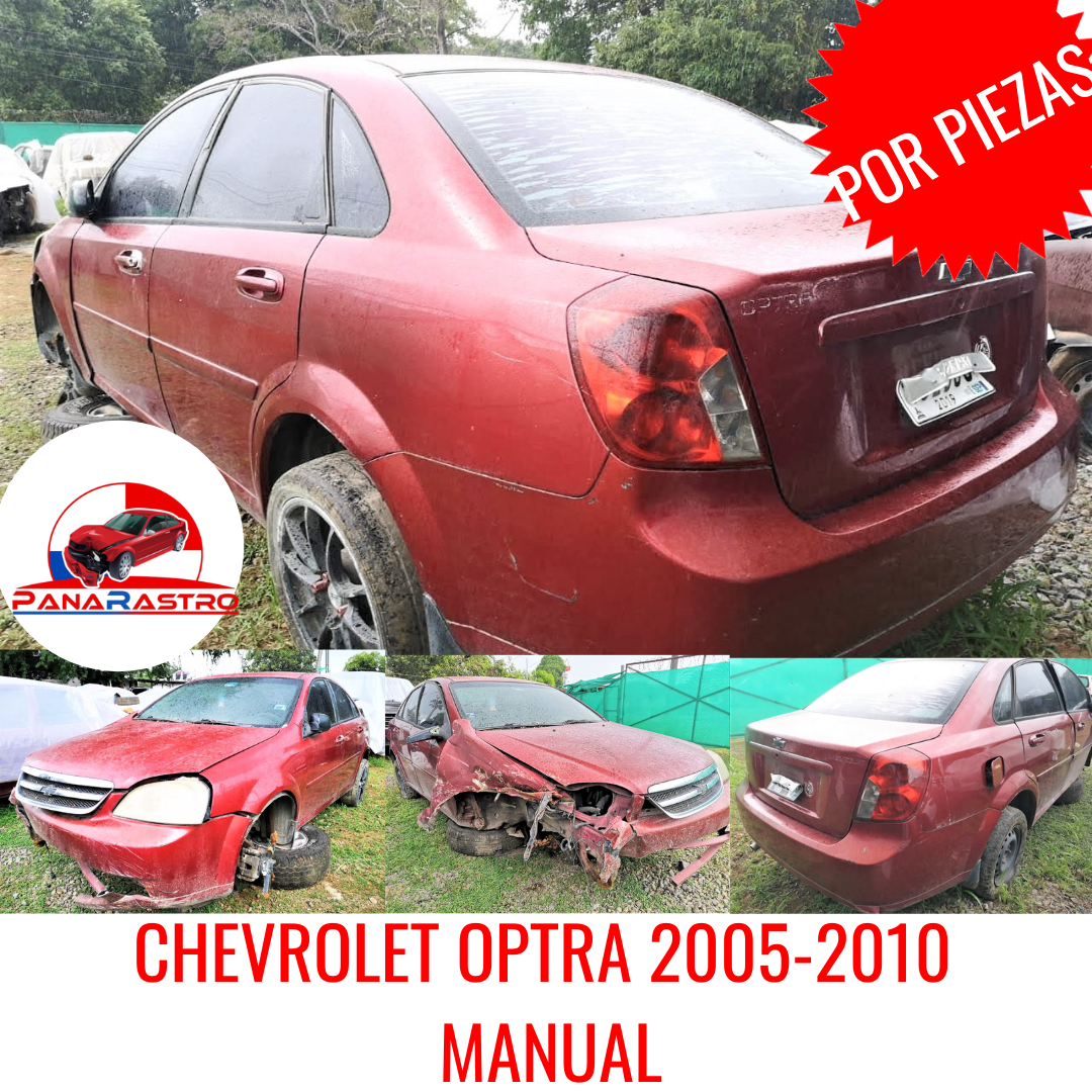 POR PIEZAS CHEVROLET OPTRA 2005 MANUAL