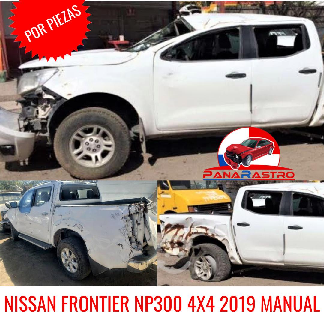 POR PIEZAS NISSAN FRONTIER 4X4 2019 MANUAL