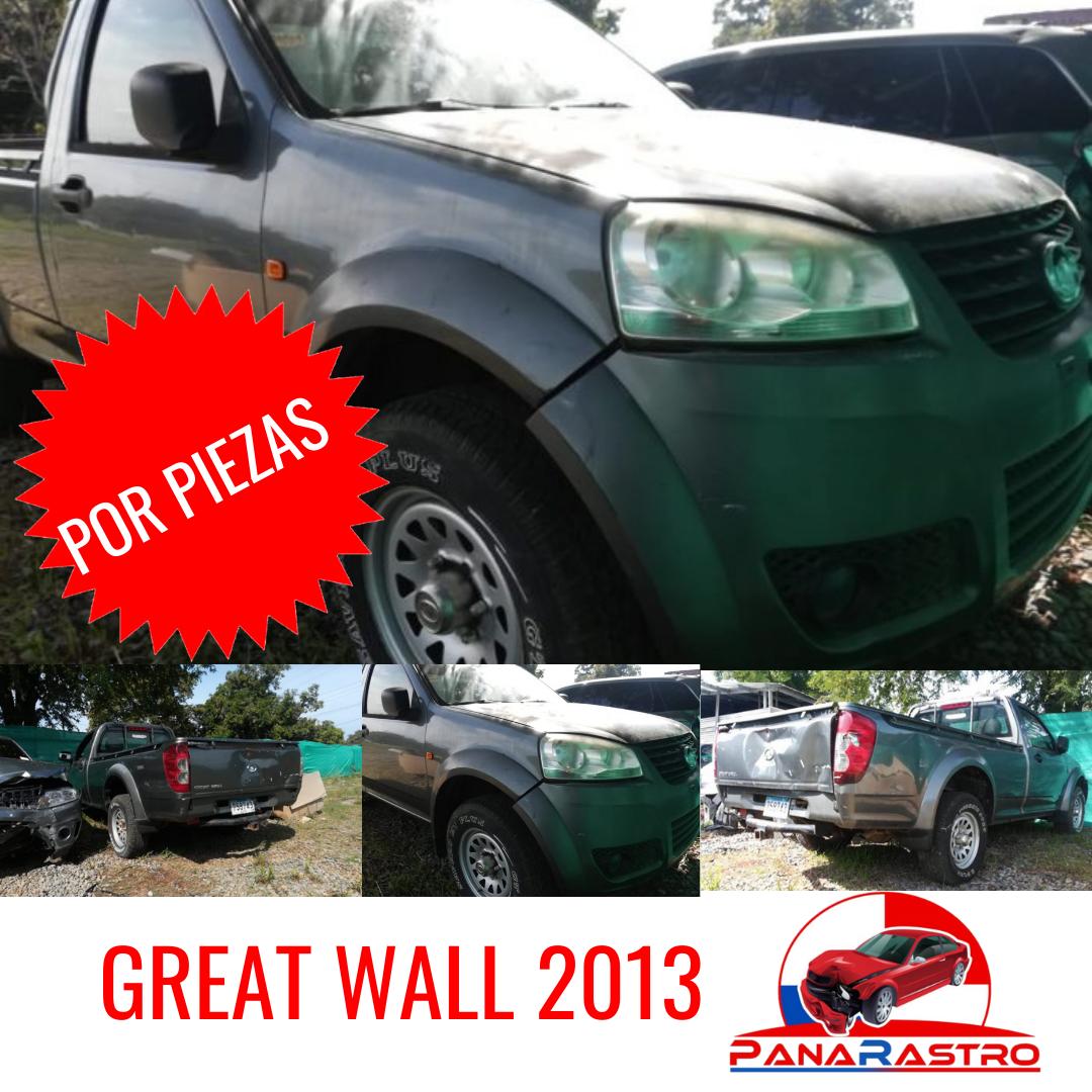 POR PIEZAS GREAT WALL 2013