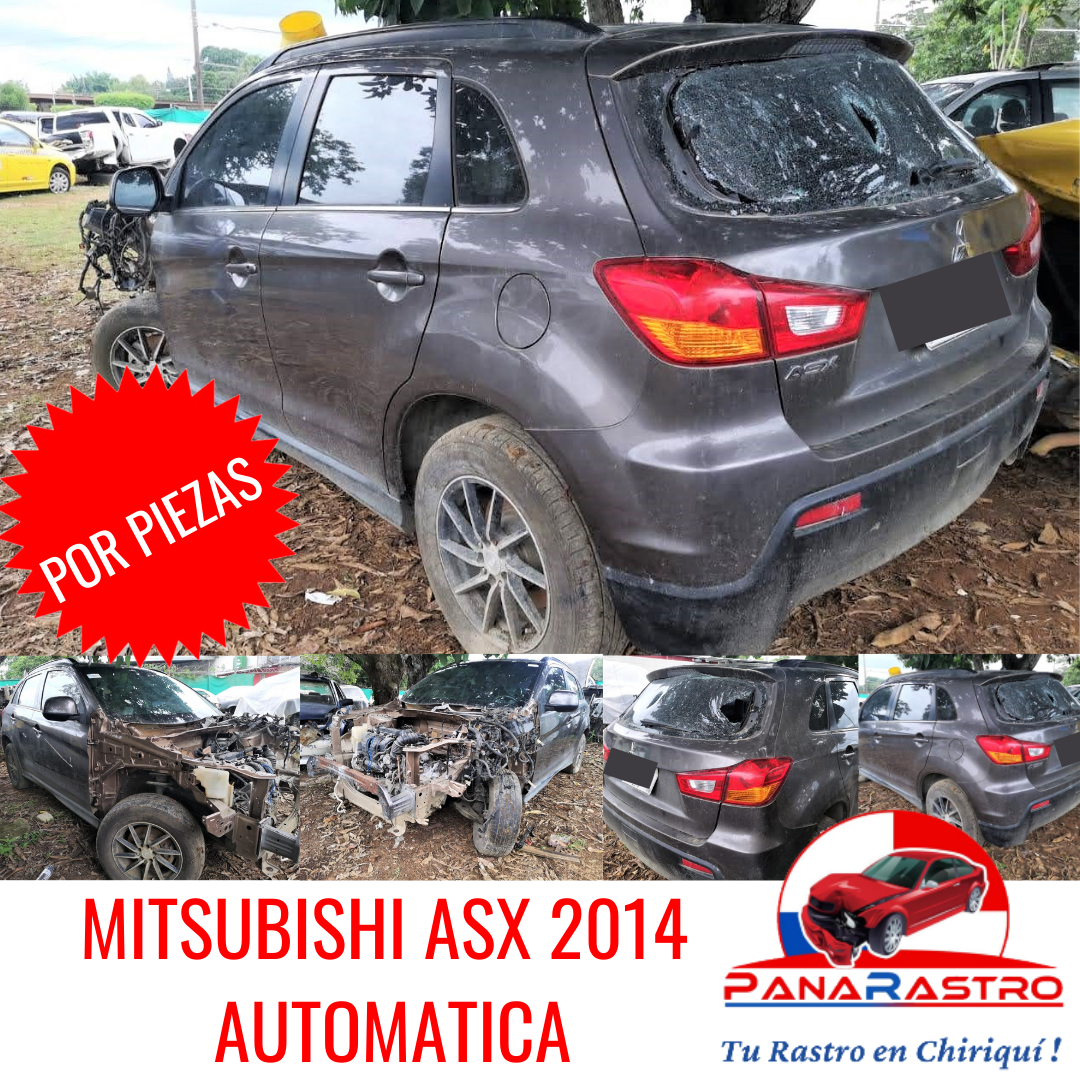 POR PIEZAS MITSUBISHI ASX 2014 AUTOMATICO
