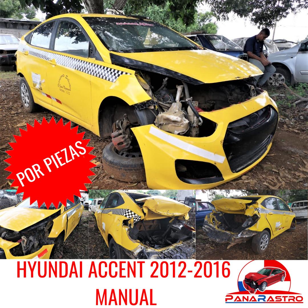 POR PIEZAS HYUNDAI ACCENT 2012-2016 MANUAL