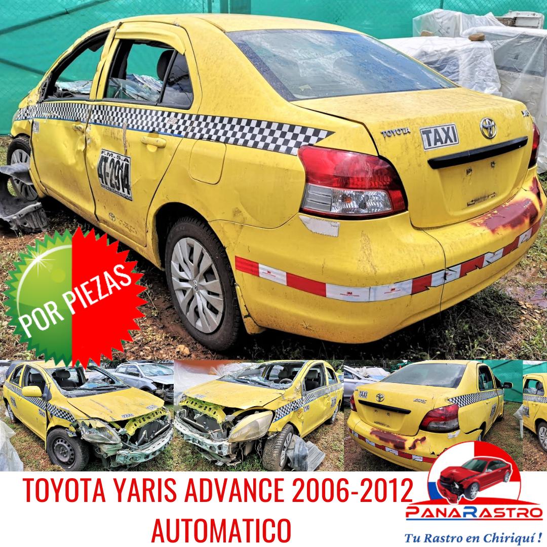 POR PIEZAS TOYOTA YARIS ADVANCE 2006-2012 AUTOMATICO