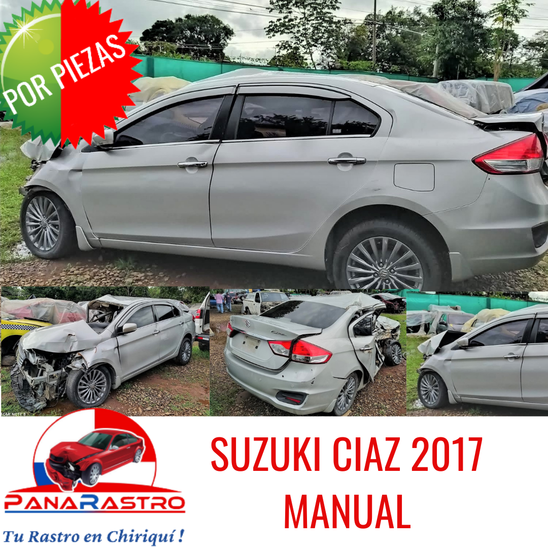 POR PIEZAS SUZUKI CIAZ MANUAL 2017